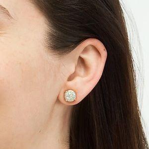 Kate Spade Glitter Gumdrop Opal Stud Earrings